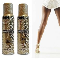 Professional spray self-tanner TanMe