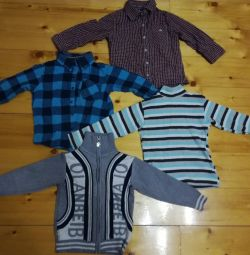 Sweatshirts, shirts