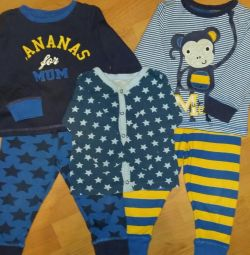 Pijamale Mothercare 86-92 р.