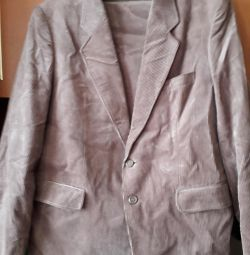 костюм з брюками новий мікровельветовий