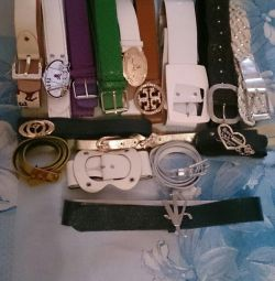 Belts, almost free!