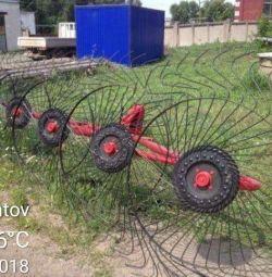 Tedder tırmık 5 tekerleği Türkiye Art18