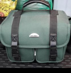 Bag for video and photo equipment.