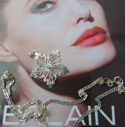925 Silver Pendant Chain