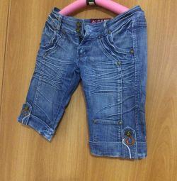 бриджі джинсові