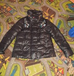 Jacket with pebbles