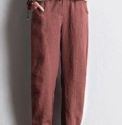 Νέα παντελόνια από λινό