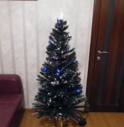 Τεχνητό χριστουγεννιάτικο δέντρο ινών 150 cm