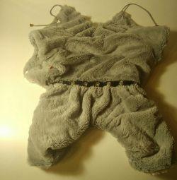 Плюшевий костюмчик для собачки XL розмір