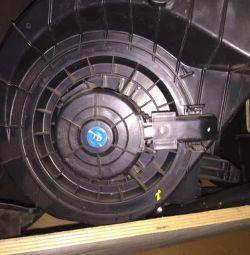 Радиатор печки БМВ Е 63 печка б,у
