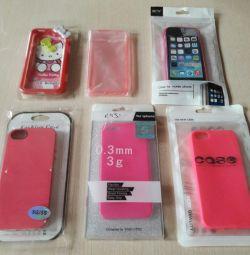 Новые силиконовые чехлы на Iphone 5/5s