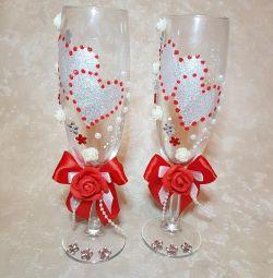 Wedding glasses ?