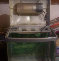 Террариум- аквариум 50л