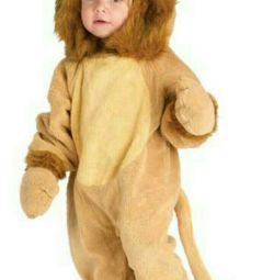 Costum de carnaval lion cub