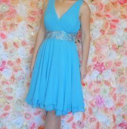 New short evening dress