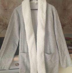 Pulover nou pentru femei, brand defacto, lungime de somn