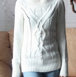 Cardigan LR milky white sweater