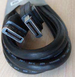 New cable VGA, DVI, DisplayPort