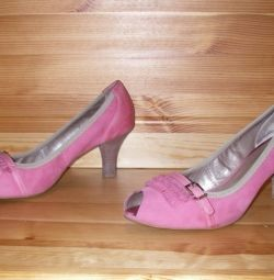 Shoes leather 39 rr