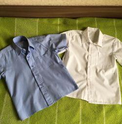 Рубашки на 7 лет