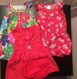 Jumpsuit, sandbox, dress carters