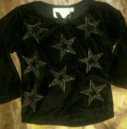 Βελούδινη μπλούζα 86 εκ.: Πώληση ή ανταλλαγή
