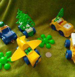 Constructor (mașini + avion + copaci etc.)
