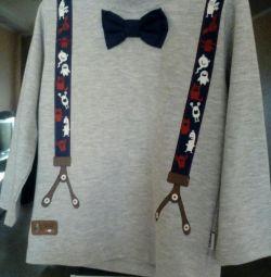 Tricou cu mânecă lungime 1,5-2 ani