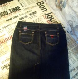 спідниця джинс