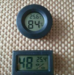 Гігрометр, гігрометр-термометр, термометр-гігрометр