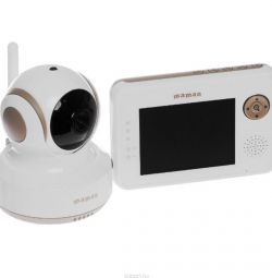 Video and radio babysitter baby monitor