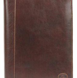 New leather folder organizer Tony Perotti