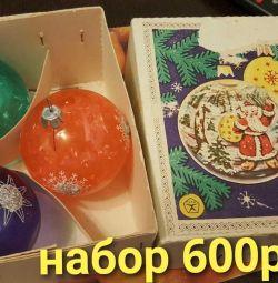 60'ların SSCB'sinin Noel oyuncakları