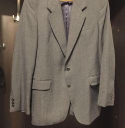 Чоловіча двойка- піджак і жилетка