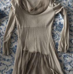 Платье(кофта) из натуральной шерсти