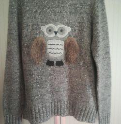 Νέο πουλόβερ πουλόβερ р. L / XL