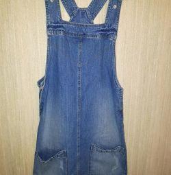 Jeans sarafan Tezenis