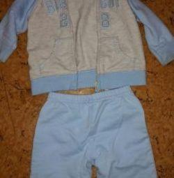Παιδικό αθλητικό κοστούμι Carter (Carter) 62-68