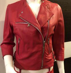 Δερμάτινο μπουφάν Dolce & Gabbana 42