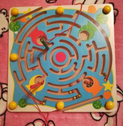 Educational game labyrinth