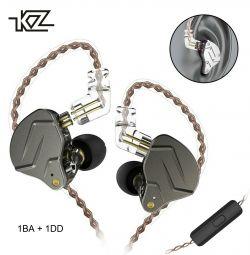 🔥 Гібридні Навушники Hi-Fi Гарнітура KZ ZSN Pro