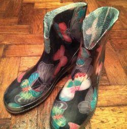Καουτσούκ μπότες 37 r.
