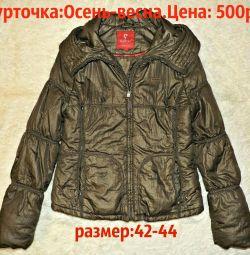 Spring jacket Khaki-metallik.LETNYAYA PRICE!