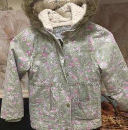 Υπέροχο παιδικό μπουφάν για κορίτσια