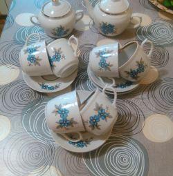 New tea service