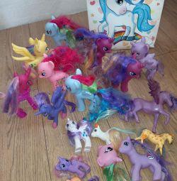 Іграшки поні, коні пакетом