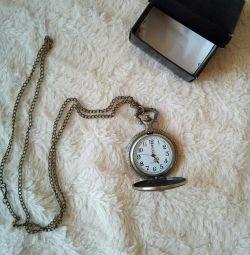 Pocket watch, new