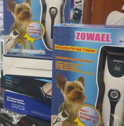 Machine professional for grooming pets