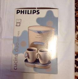 Кофеварка Филипс новая в упаковке.