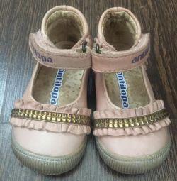 Küçük bir prenses için ayakkabı